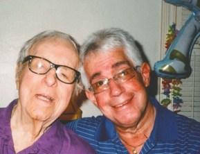 Ray Bradbury and Steve Vertlieb in 2011.