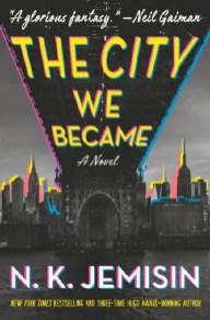 The City We Became by N.K. Jemisin, art by Lauren Panepinto