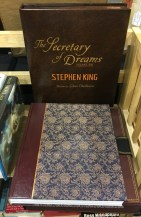 Stephan King double signed by King and Gaiman $750