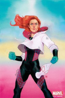 SPIDER-GWEN #21 by Kevin Wada