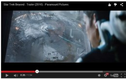 Enterprise being destroyed in Star Trek Beyond Trailer