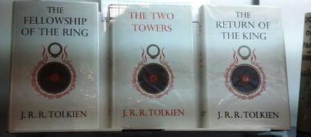 True British first editions of Lord of the Rings