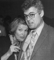Alice K. Turner with David Hartwell. Photo by and copyright © Andrew Porter.