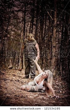 Fall Scarecrow Wallpaper Broken Path