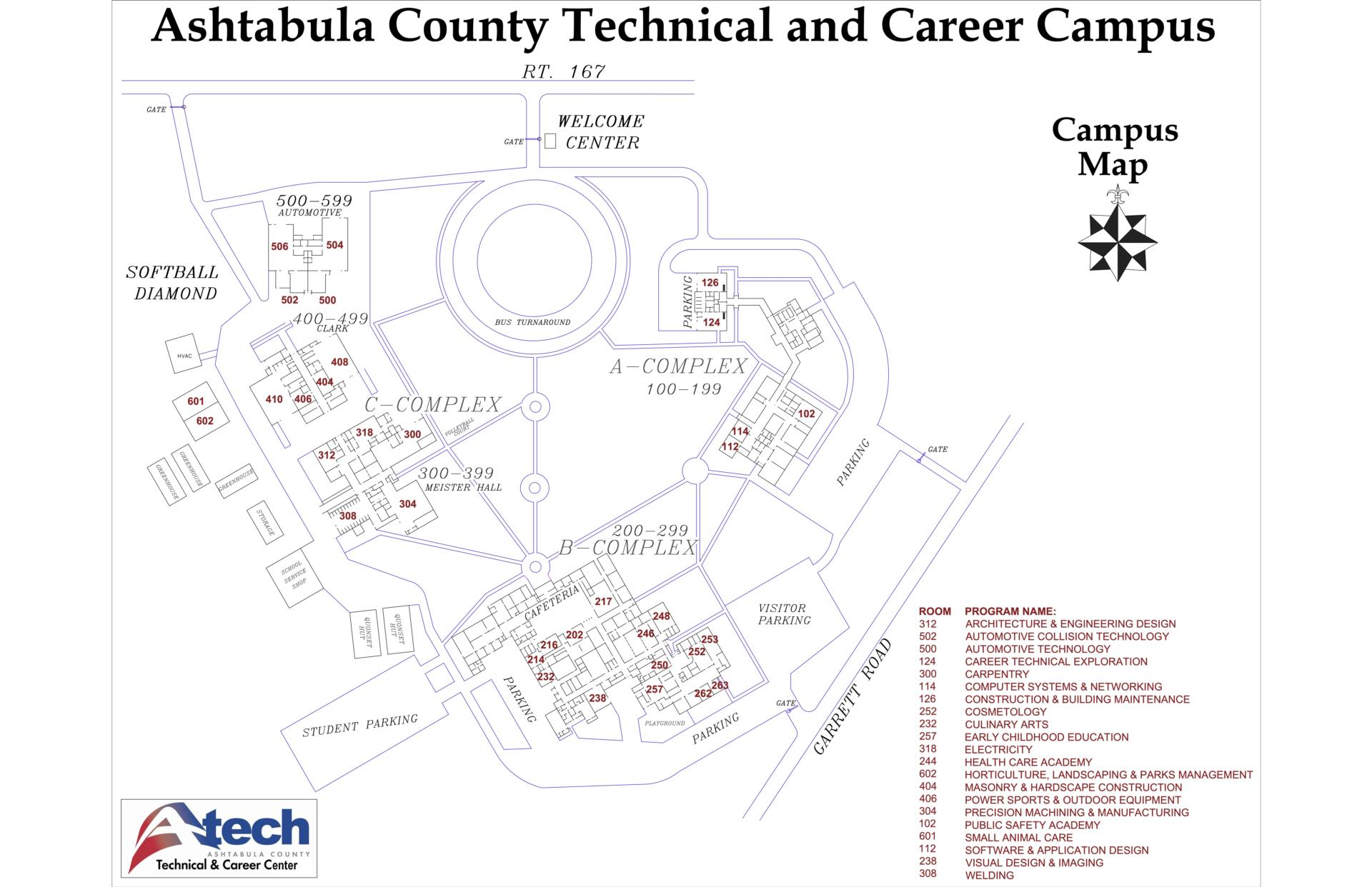 Map to Campus