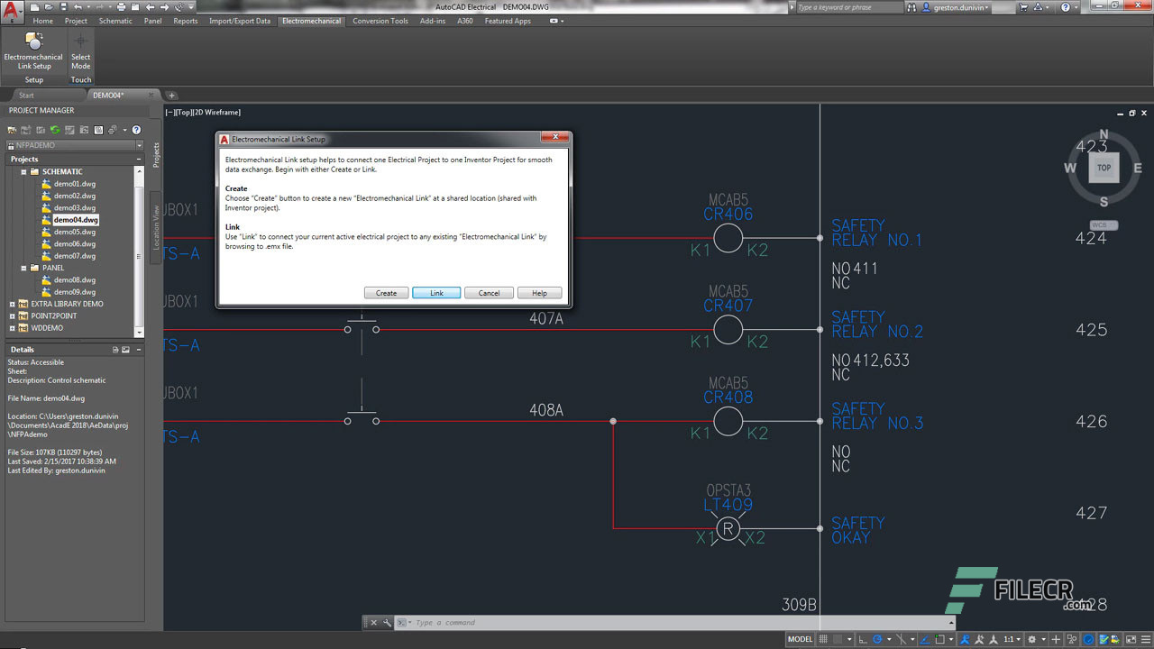 Scr11_Autodesk AutoCAD Electrical_free download