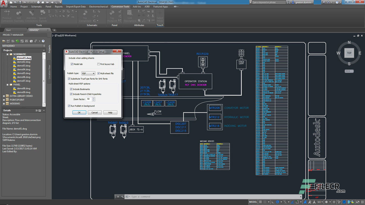 Scr3_Autodesk AutoCAD Electrical_free download