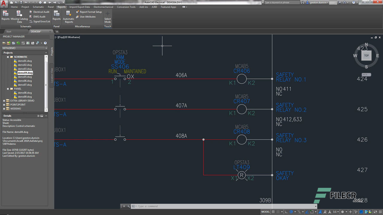 Scr8_Autodesk AutoCAD Electrical_free download