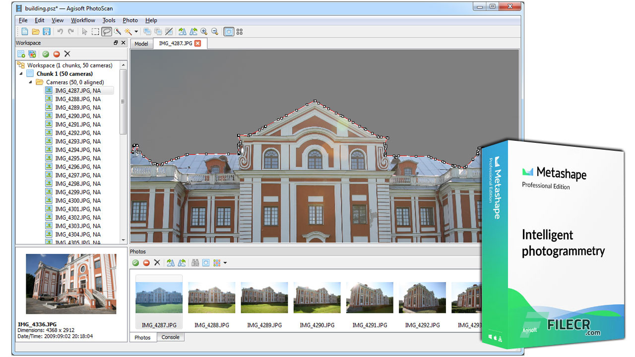 Agisoft PhotoScan Pro Lifetime license Instant Download For high-quality 3D mode