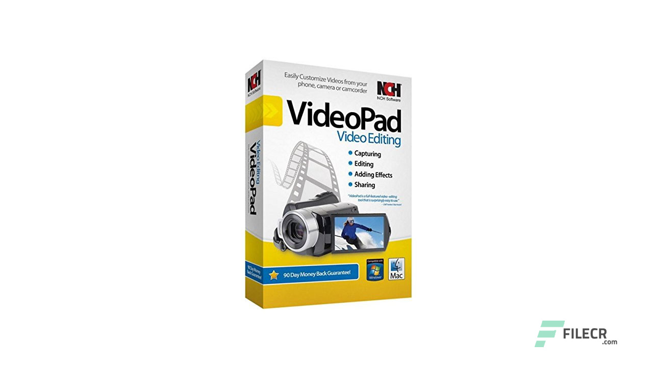 NCH VideoPad Video Editor Professional 7 Free Download