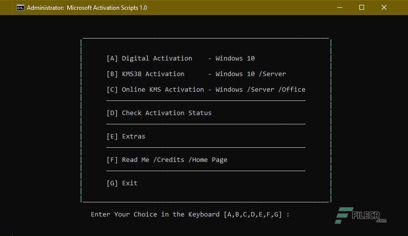 Microsoft-Activation-Scripts-Free-Download