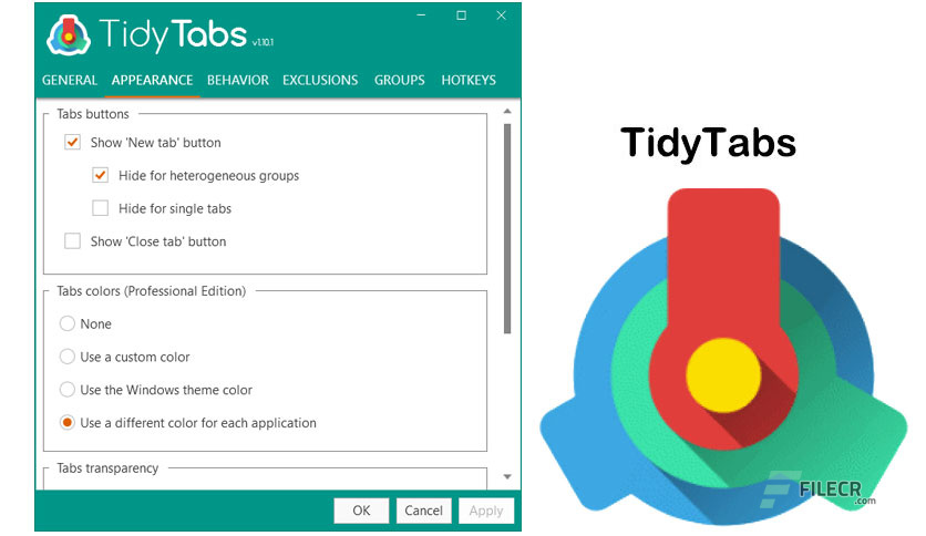 TidyTabs Professional 1.16.1