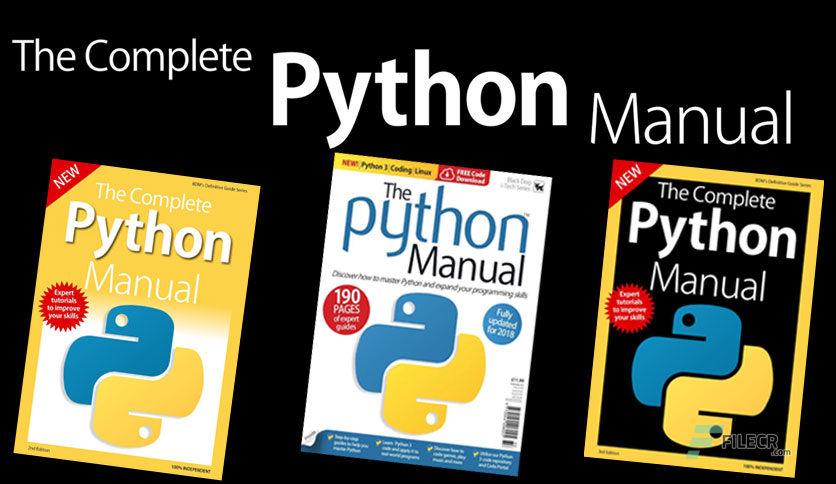 The Complete Python Manual – 8th Edition 2019