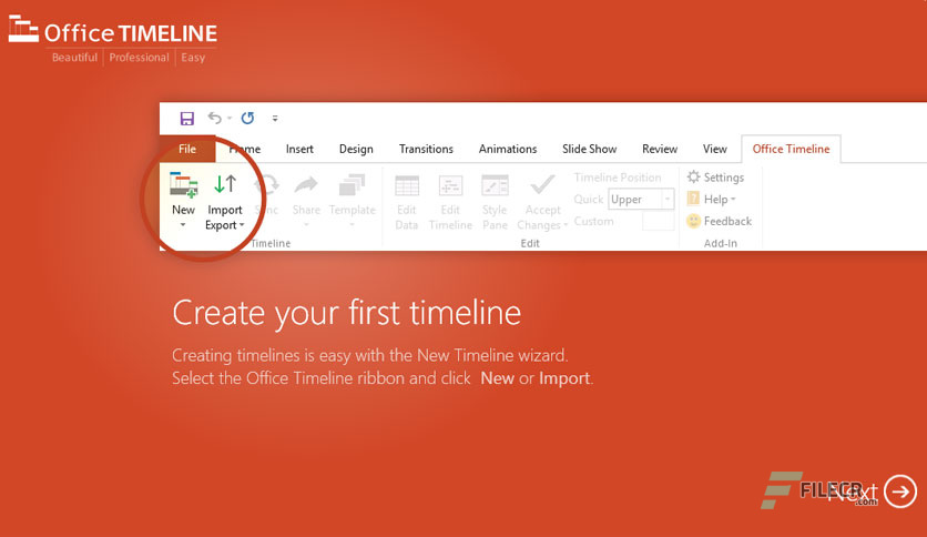 Office Timeline Plus / Pro Edition 5.00.00.00