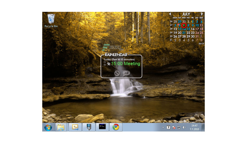 Rainlendar Pro 2.15.4 Build 166
