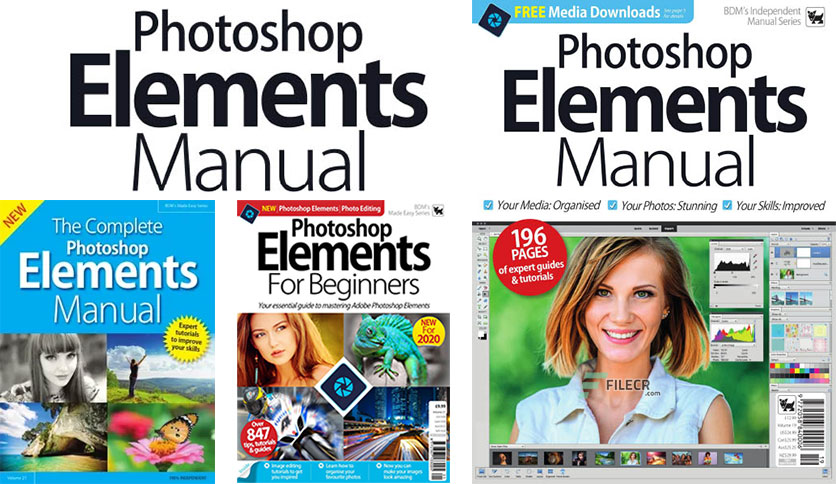 Photoshop Elements Manual – Volume 19, 2019