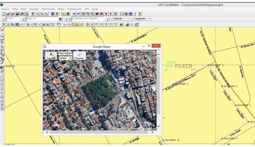GPS TrackMaker Pro 4.9.603
