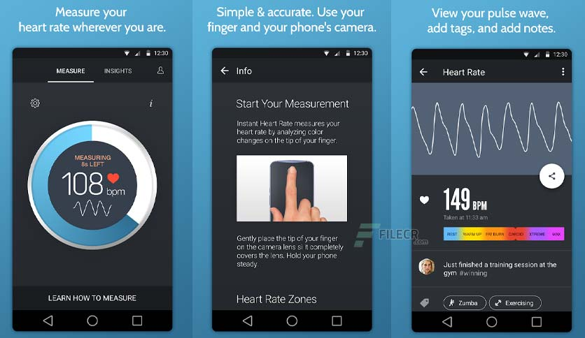 Instant Heart Rate+: Heart Rate & Pulse Monitor v5.36.8272