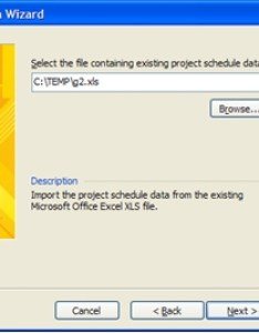 Import dialog also automating the creation of visio gantt charts from excel data rh experts exchange