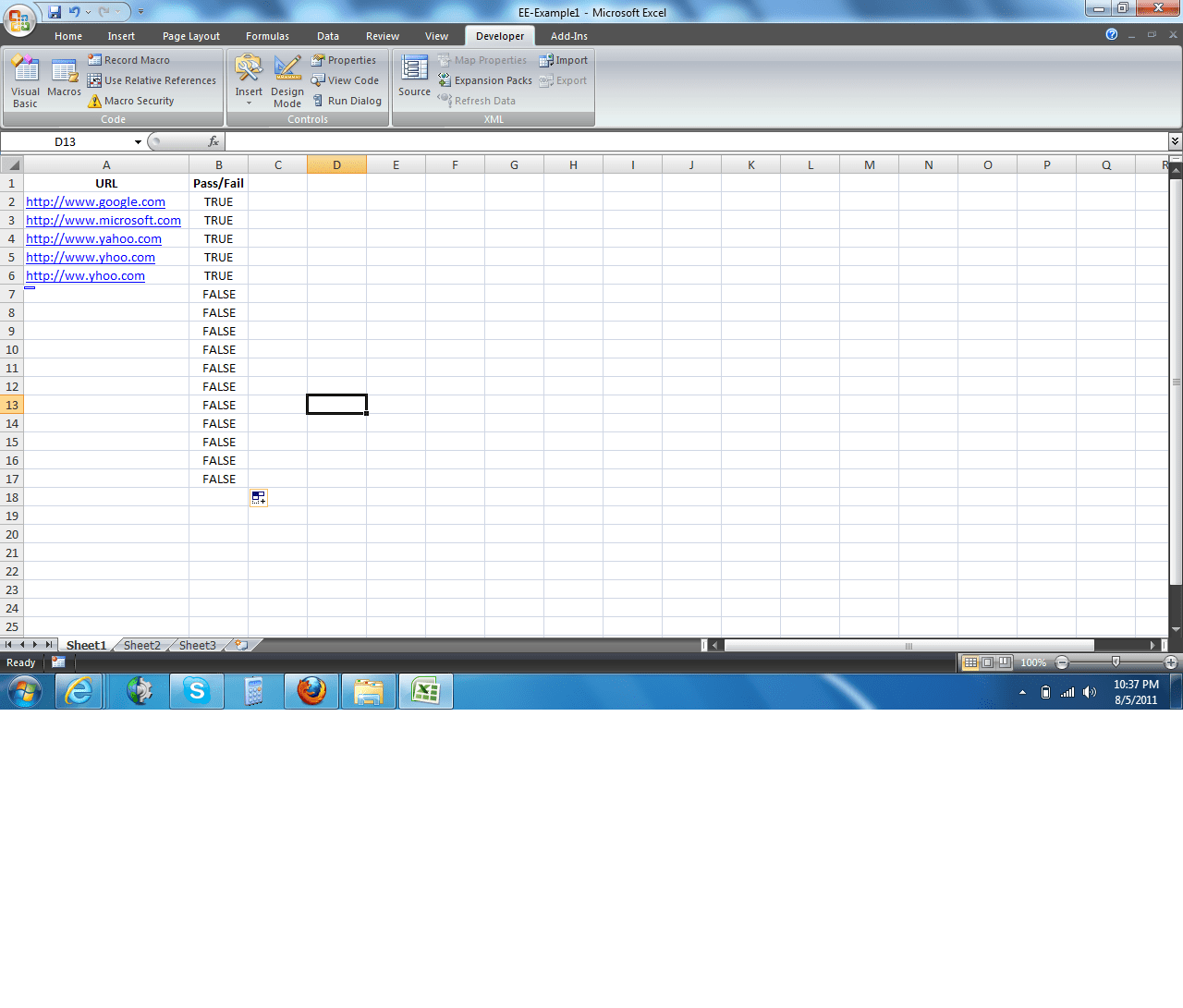 Vba Check Url If It Is Active Or Not Solutions