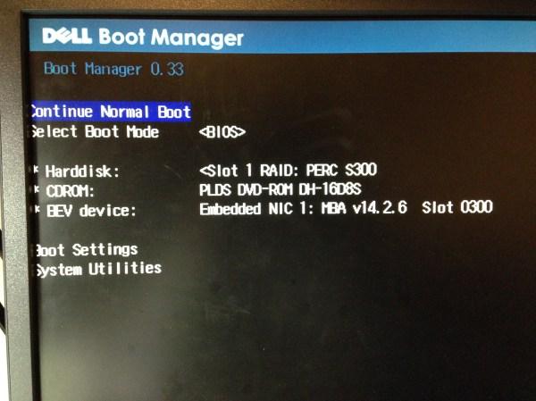 Dell Suu Bootable