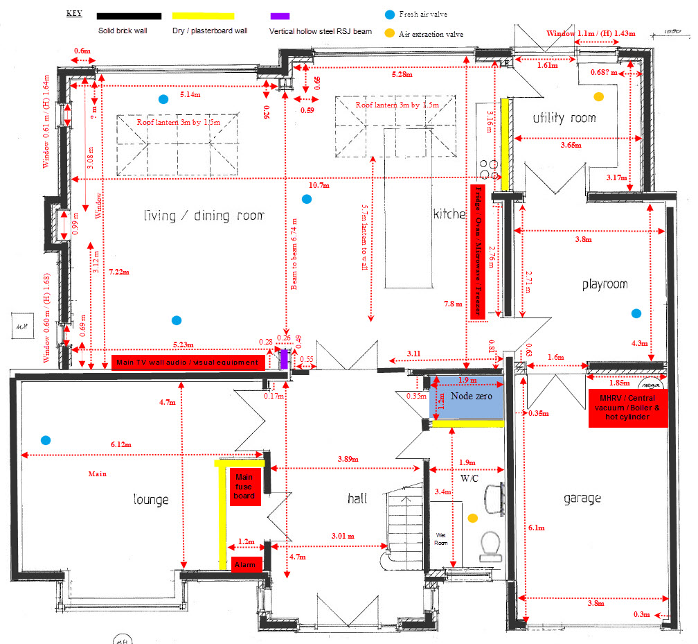 hight resolution of ground floor plan