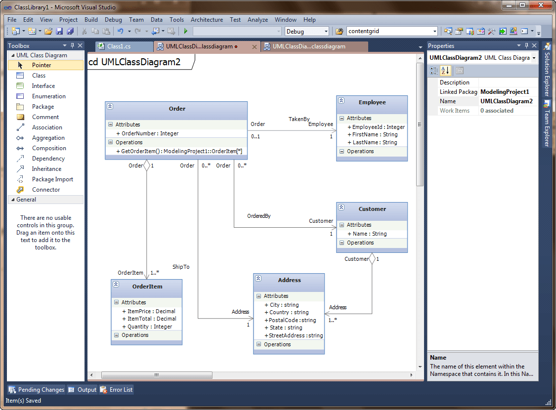 visual studio view class diagram 2005 chrysler 300 radio wiring software tool to depict the structure of a solution