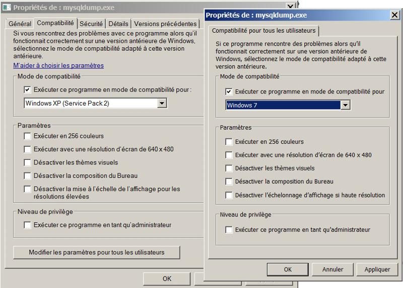 Solved: MYSQL Server 5.7 - mysqldump.exe producing error.   Experts Exchange