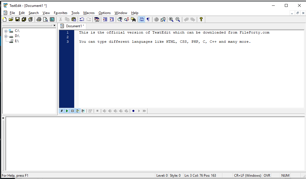 textedit for windows free download