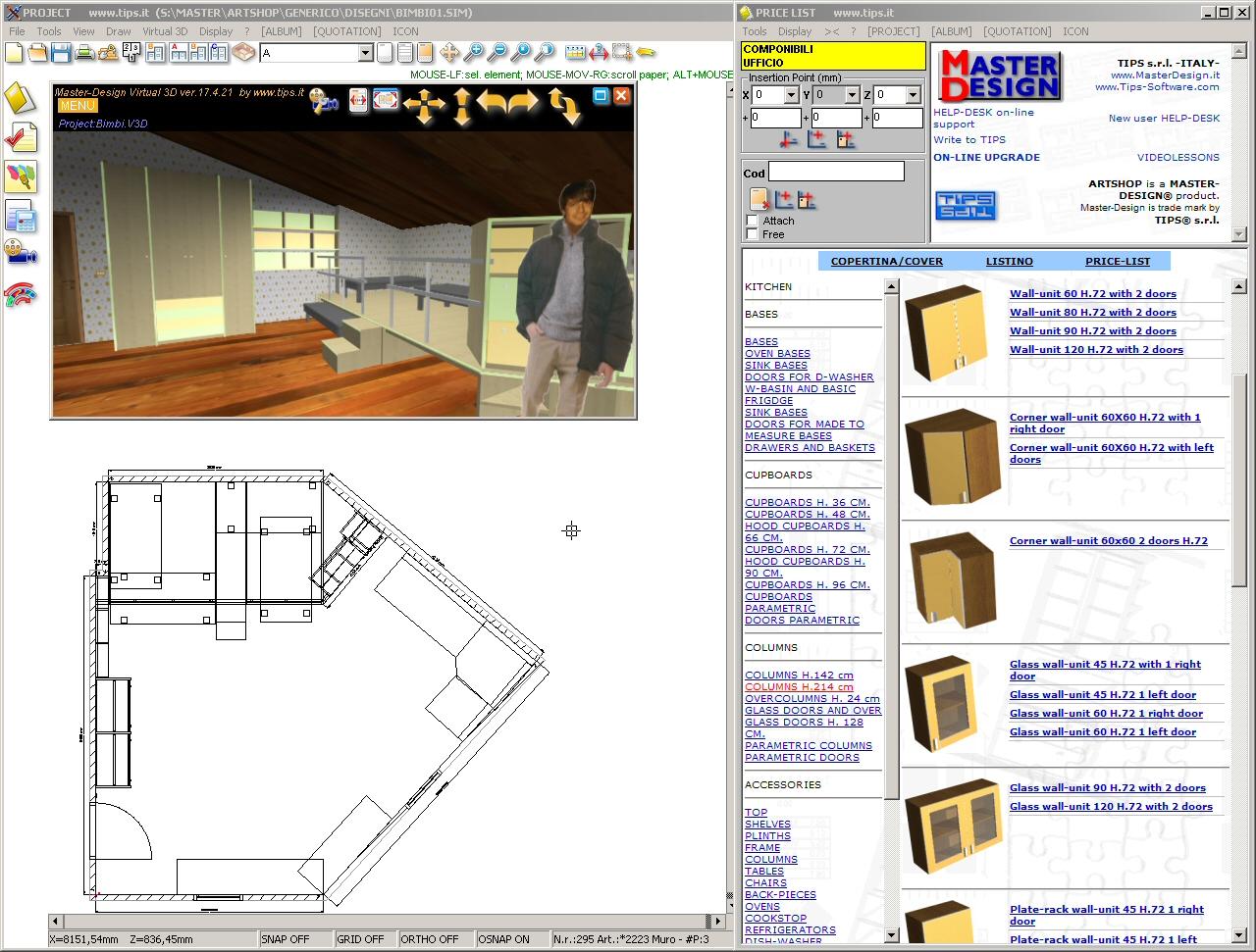 kitchen cabinet software mid century modern table filegets master design art shop x lite screenshot