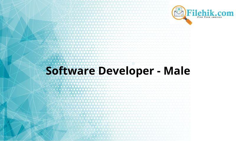 Software Developer – Male
