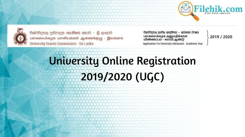 University Online Registration 2019/2020 (UGC)