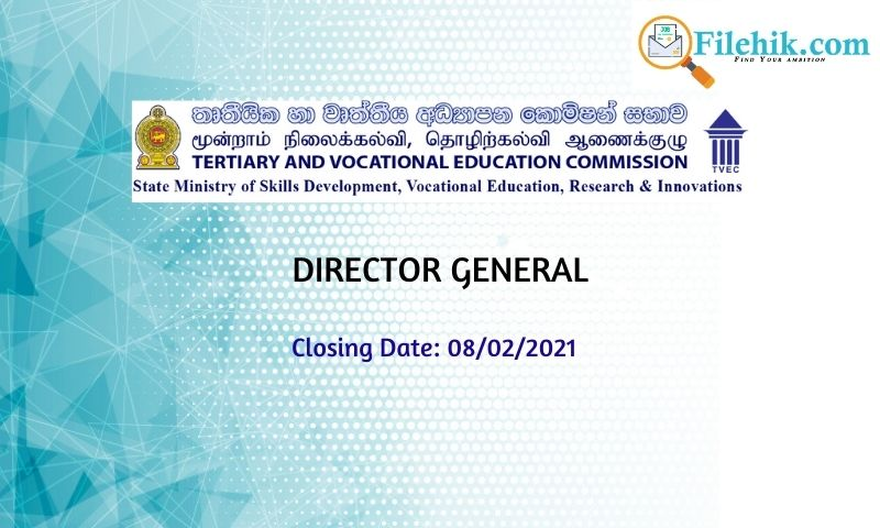 Director General – The Tertiary And Vocational Education Commission