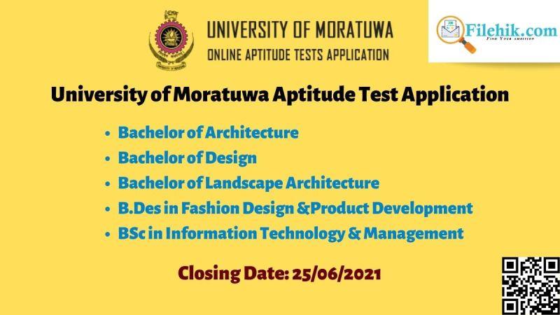 University of Moratuwa Admission