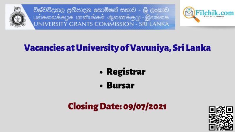 University of Vavuniya