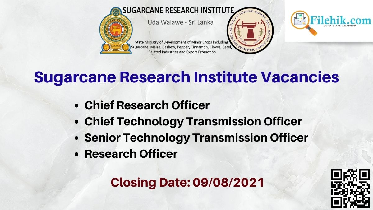 Sugarcane Research Institute Career Opportunities 2021