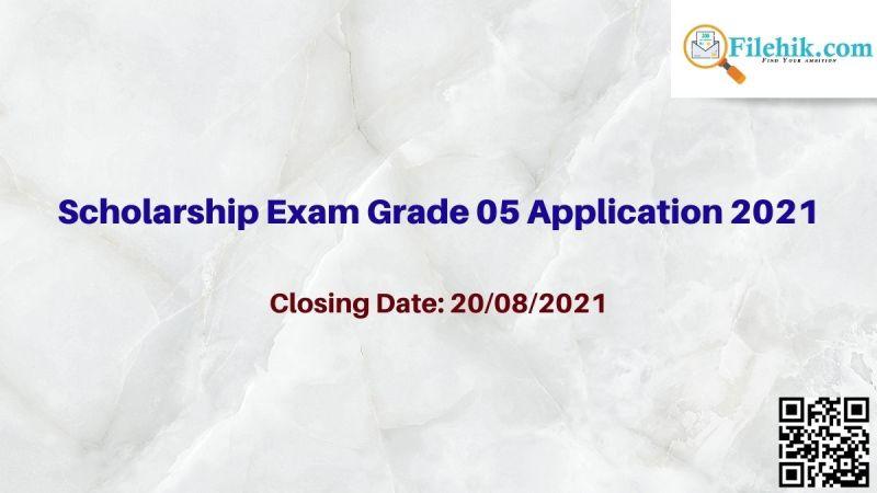 Scholarship Exam Grade 05