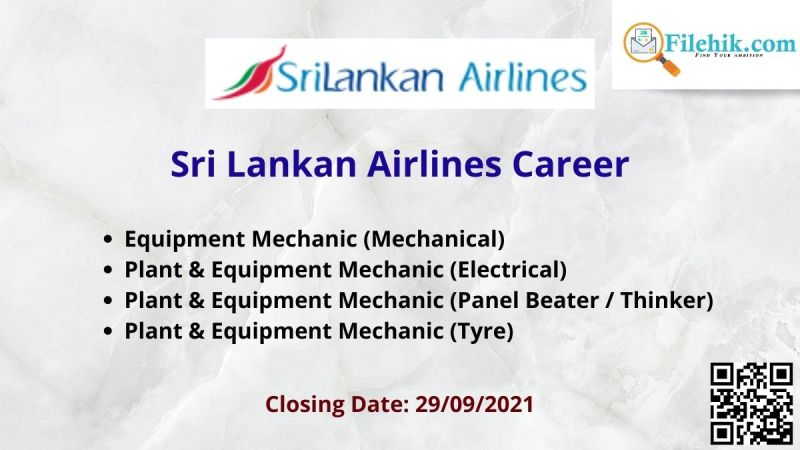 Sri Lankan Airlines Career
