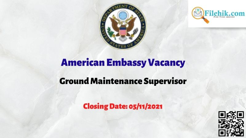 Ground Maintenance Supervisor