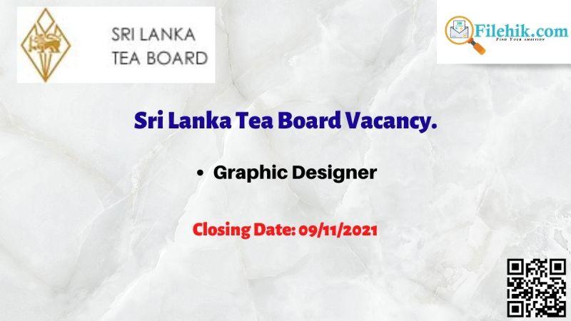 Sri Lanka Tea Board Vacancy.