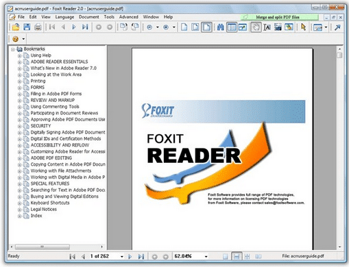 Foxit Reader Portable for Windows