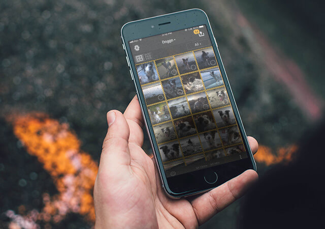 ACDSee Photo Studio Home - Mobile Sync