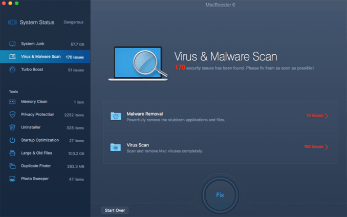 Virus And Malwares For System Cleaner For Mac