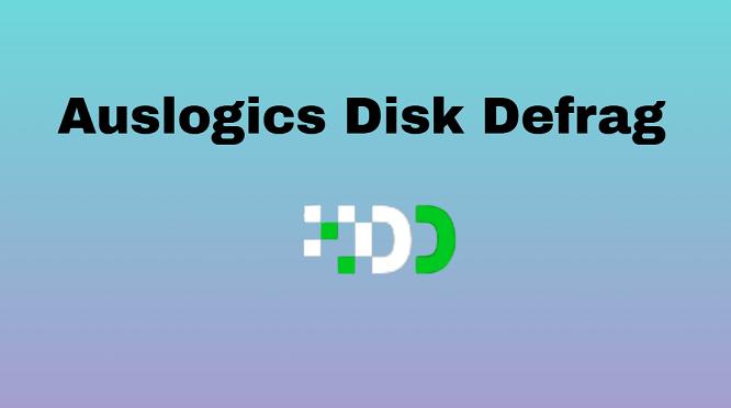 Disk defragmentation