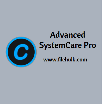 Advanced SystemCare Pro Software For PC Download