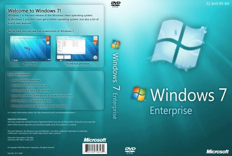 Windows 7 Enterprise ISO Download Full Version 32- 64 Bit
