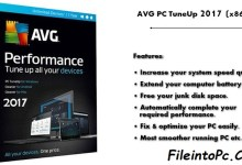 AVG PC TuneUp 2017 Free Full Version