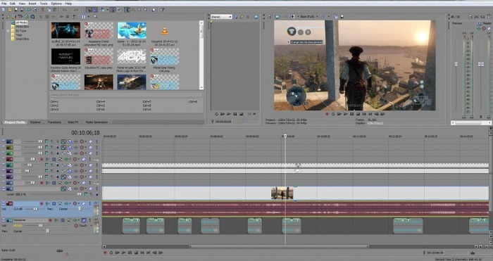 Sony Vegas Pro 12 Review