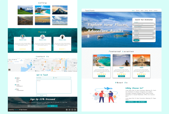 Tour And Travels Template