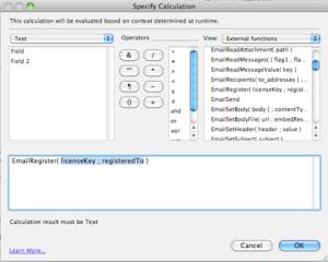 FileMaker Pro Formulas